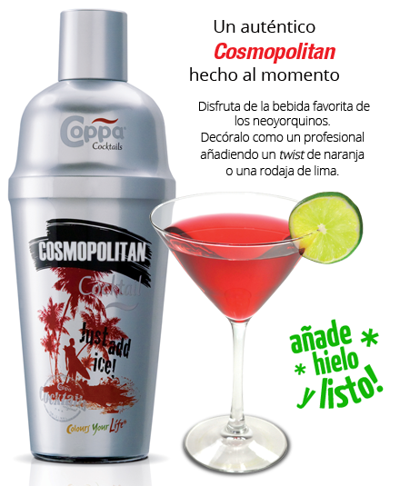 Cosmopolitan Coppa Cocktail